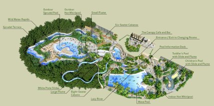 longleat pool map
