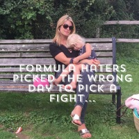 Formula haters- you did not pick a good day to mess...